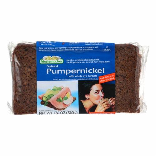 Mestemacher Bread Bread - Westphalian Classic - Pumpernickel - 17.6 oz - case of 12 Perspective: front