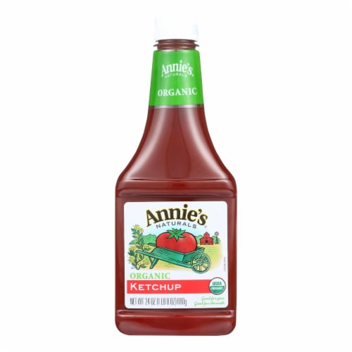 Annie's Naturals Organic Ketchup - Case of 12 - 24 oz. Perspective: front