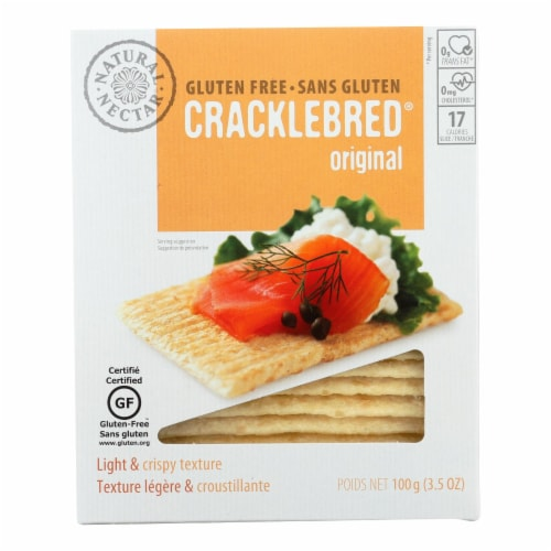 Natural Nectar Gluten Free Cracklebred - Tomato - Case of 12 - 3.5 oz. Perspective: front