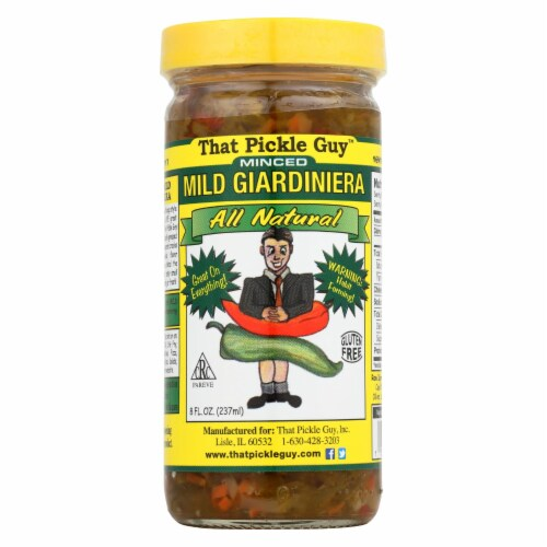 That Pickle Guy Giardiniera - Mild - Minced - Case of 12 - 8 fl oz Perspective: front