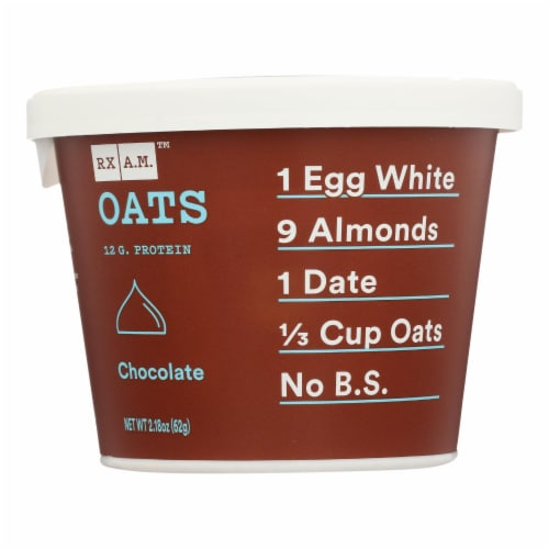 Rxbar - Rx A.m. Oats Chocolate - Case of 12 - 2.18 OZ Perspective: front