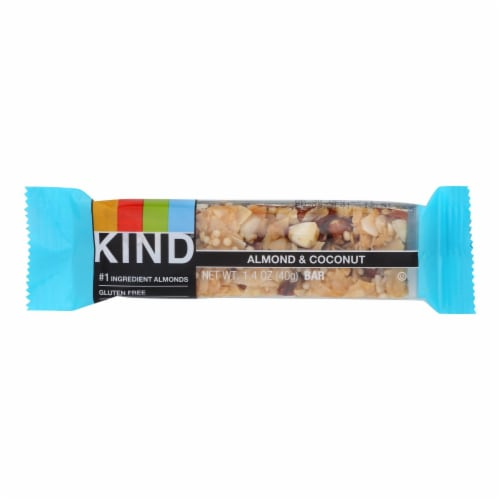 Kind Bar - Almond and Coconut - Case of 12 - 1.4 oz Perspective: front