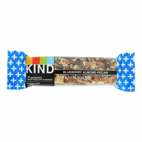 Kind Bar - Blueberry Pecan Plus Fiber - Case of 12 - 1.4 oz Perspective: front
