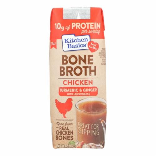 Kitchen Basics Chicken Bone Broth - Case of 12 - 8.25 FZ Perspective: front