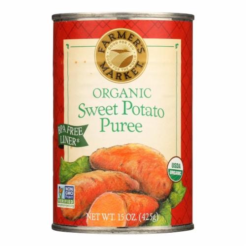 Farmer's Market Organic Pumpkin - Potato Puree - Case of 12 - 15 oz. Perspective: front