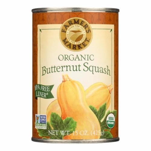 Farmer's Market Organic Butternut - Squash - Case of 12 - 15 oz. Perspective: front