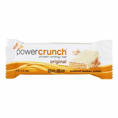 Power Crunch Bar - Peanut Butter Cream - Case of 12 - 1.4 oz Perspective: front