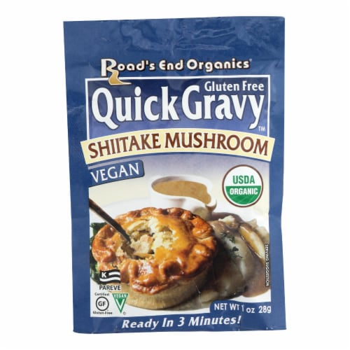 Road's End Organics Gravy Mix - Organic - Shiitake Mushroom - 1 oz - Case of 12 Perspective: front