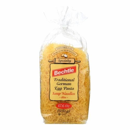 Bechtle Noodles - Fine - Case of 12 - 17.6 oz Perspective: front