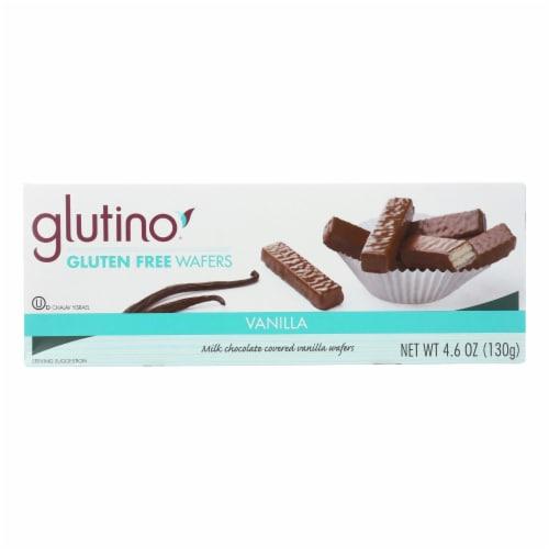 Glutino Chocolate Vanilla Cookies - Case of 12 - 4.6 oz. Perspective: front