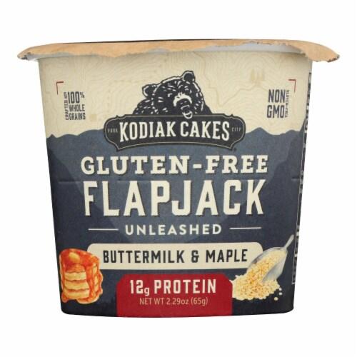 Kodiak Cakes - Flpjck Btrmlk Maple Gluten Free - Case of 12 - 2.16 OZ Perspective: front