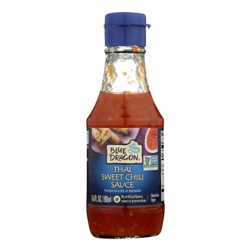 Blue Dragon Dipping Sauce  - Case of 12 - 6.4 OZ Perspective: front