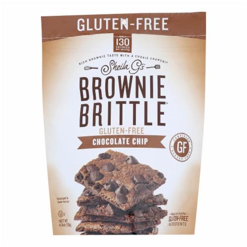Sheila G's - Brwnie Brtl Chocolate Chip Gluten Free - Case of 12-4.5 OZ Perspective: front