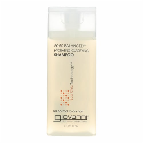 Giovanni Hair Care Products 50/50 Balanced Shampoo - Case of 12 - 2 fl oz Perspective: front