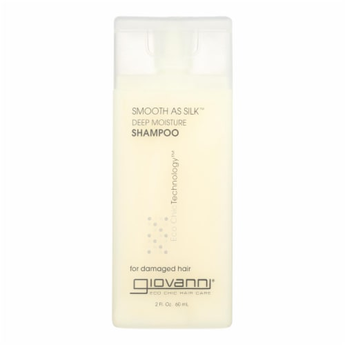 Giovanni Smooth As Silk Deep Moisture Shampoo - 2 fl oz - Case of 12 Perspective: front