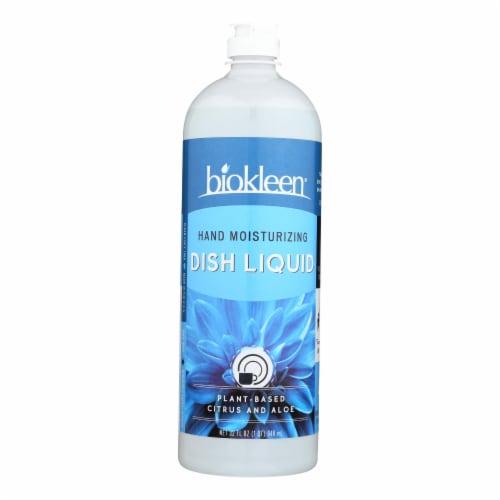 Biokleen Natural Dish Liquid - Case of 12 - 32 oz Perspective: front
