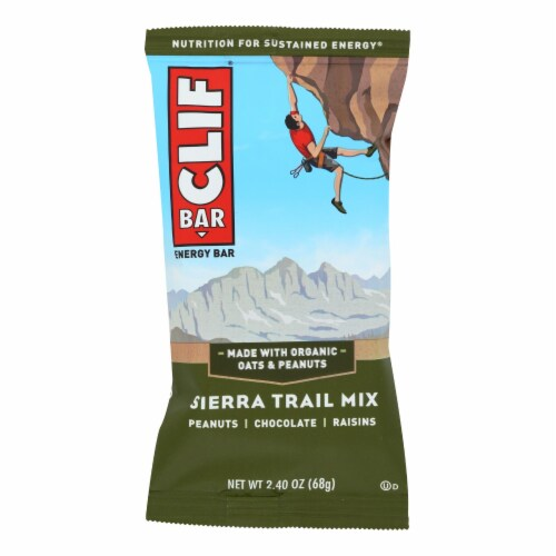 Clif Bar - Sierra Trail Mix - Case of 12 - 2.4 oz Perspective: front