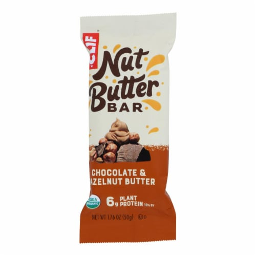 Clif Bar Organic Nut Butter Filled Energy Bar Chocolate Hazelnut Butter - Case 12 - 1.76 oz Perspective: front