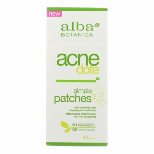 Alba Botanica - Acnedote Pimple Patches - 40 count Perspective: front