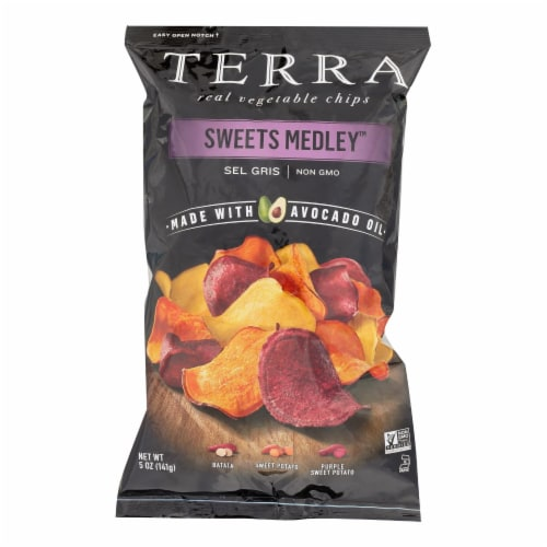 Terra Chips Real Vegetable Chips - Case of 12 - 5 OZ Perspective: front