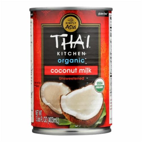 Thai Kitchen Organic Lite Coconut Milk - Case of 12 - 13.66 Fl oz. Perspective: front