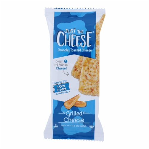 Just The Cheese - Bars Grilled Cheese - Case of 12 - .8 OZ Perspective: front