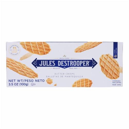 Jules Destrooper - Cookie Butter Crisps - Case of 12-3.5 OZ Perspective: front