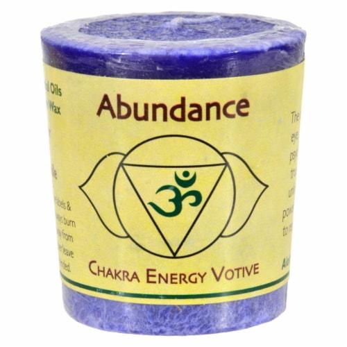 Aloha Bay - Chakra Votive Candle - Abundance - Case of 12 - 2 oz Perspective: front