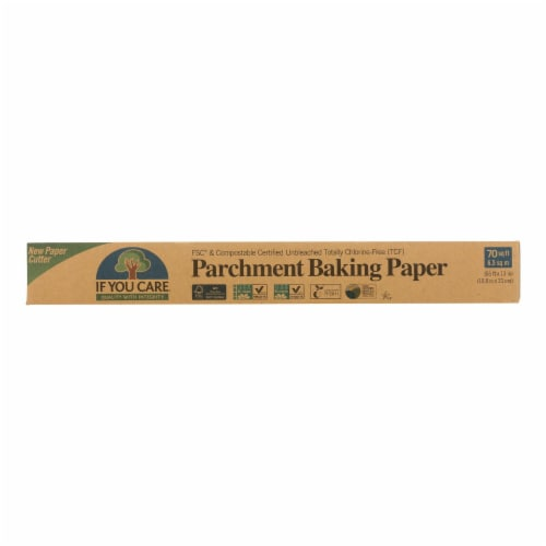 If You Care Parchment Paper - Case of 12 - 70 Sq Ft Rolls Perspective: front
