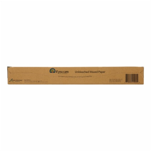 If You Care Waxed Paper - Natural - Case of 12 - 75 sq. ft. Perspective: front