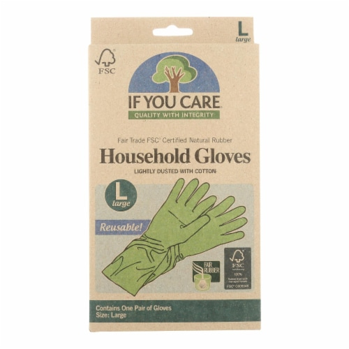 If You Care Household Gloves - Large - 12 Pairs Perspective: front