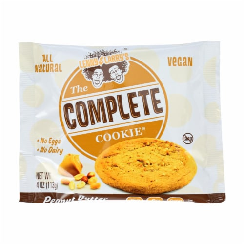 Lenny and Larry's The Complete Cookie - Peanut Butter - 4 oz - Case of 12 Perspective: front
