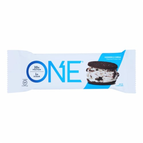 One Brands Protein Bar - Case of 12 - 60 GRM Perspective: front