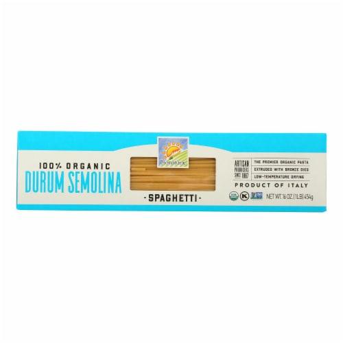 Bionaturae Pasta - Organic - 100 Percent Durum Semolina - Spaghetti - 16 oz - case of 12 Perspective: front