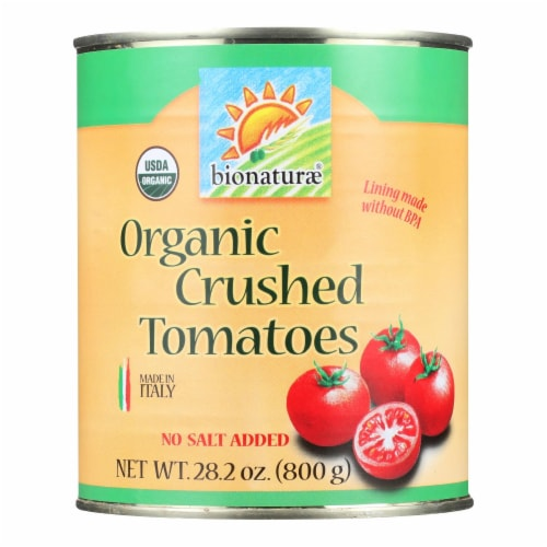 Bionaturae Tomatoes - Organic - Crushed - 28.2 oz - case of 12 Perspective: front