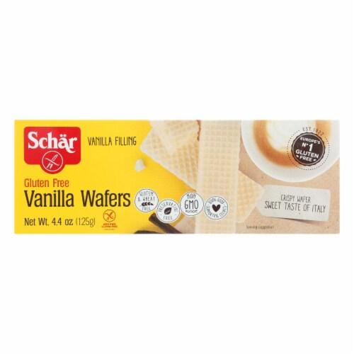 Schar Vanilla Wafers Gluten Free - Case of 12 - 4.4 oz. Perspective: front