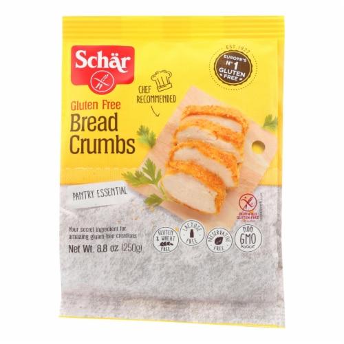Schar Bread Crumbs Gluten Free - Case of 12 - 8.8 oz. Perspective: front