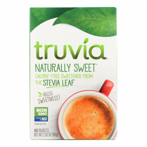 Truvia - Sweetener Natural - Case of 12 - 40 CT Perspective: front