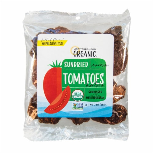 Mediterranean Organic Organic Sundried Tomatoes - Case of 12 - 3 OZ Perspective: front