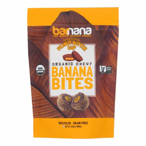 Barnana - Ban Bites Chocolate Pb Cup - Case of 12 - 3.5 OZ Perspective: front