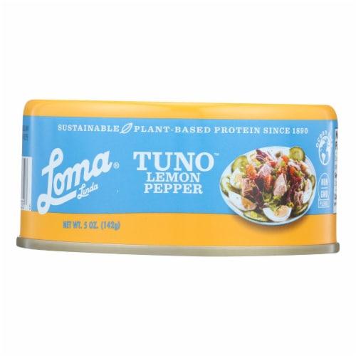 Loma Linda Lemon Pepper - Case of 12 - 5.0 OZ Perspective: front