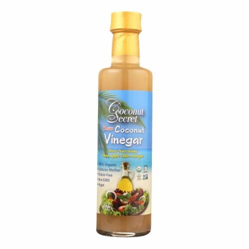Coconut Secret - Raw Coconut - Vinegar - Case of 12 - 12 Fl oz. Perspective: front
