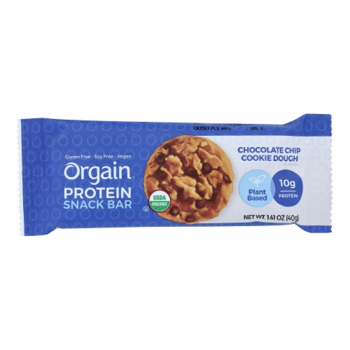 Our Organic Protein Bars  - Case of 12 - 1.41 OZ Perspective: front