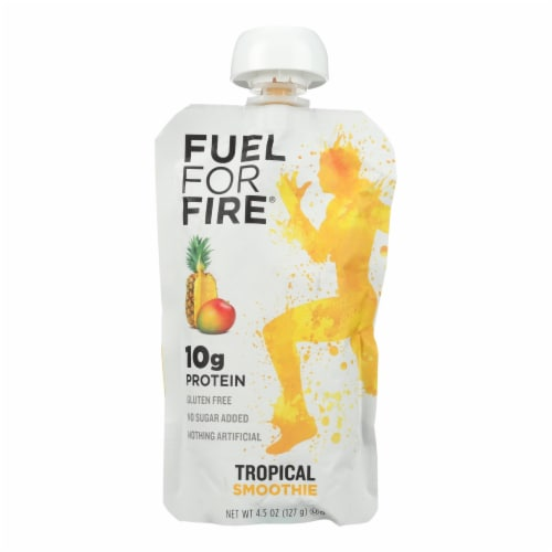 Fuel For Fire Fruit + Protein Fuel Pack - Case of 12 - 4.5 OZ Perspective: front