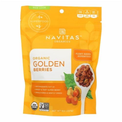 Navitas Naturals Goldenberries - Organic - 8 oz - case of 12 Perspective: front