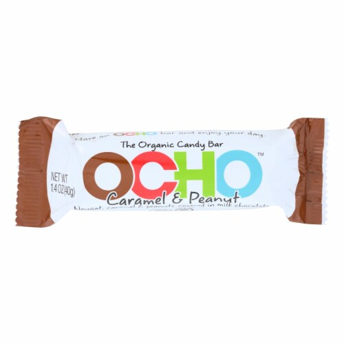 Ocho Candy - Candy Bar Crml/peanut - Case of 12-1.5 OZ Perspective: front