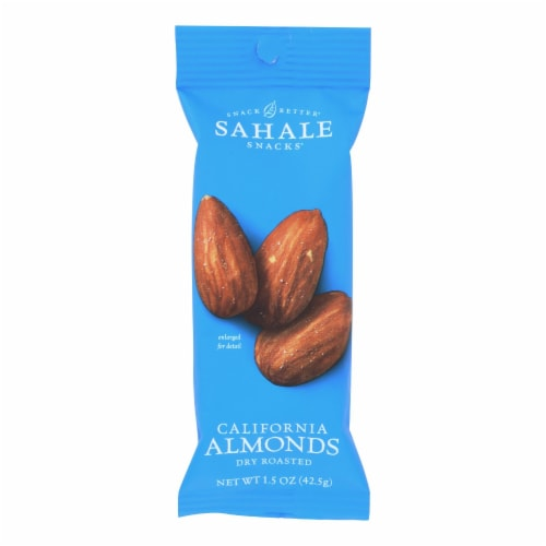 Sahale Snacks Dry Roasted California Almonds Perspective: front