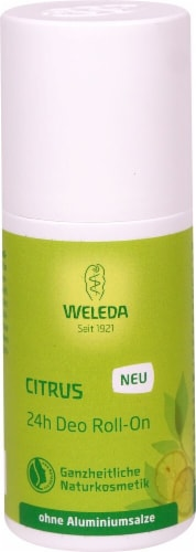 Weleda Citrus 24-Hour Roll-On Deodorant Perspective: front