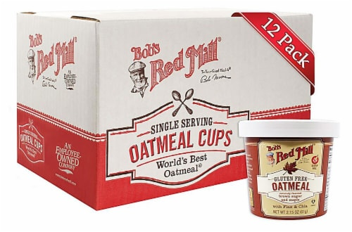 Bob's Red Mill Gluten Free Brown Sugar and Maple Oatmeal Cups Perspective: front