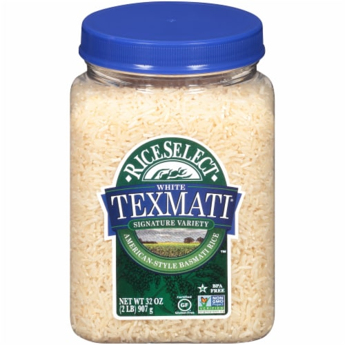 RiceSelect Texmati White American-Style Basmati Rice (4 Pack) Perspective: front